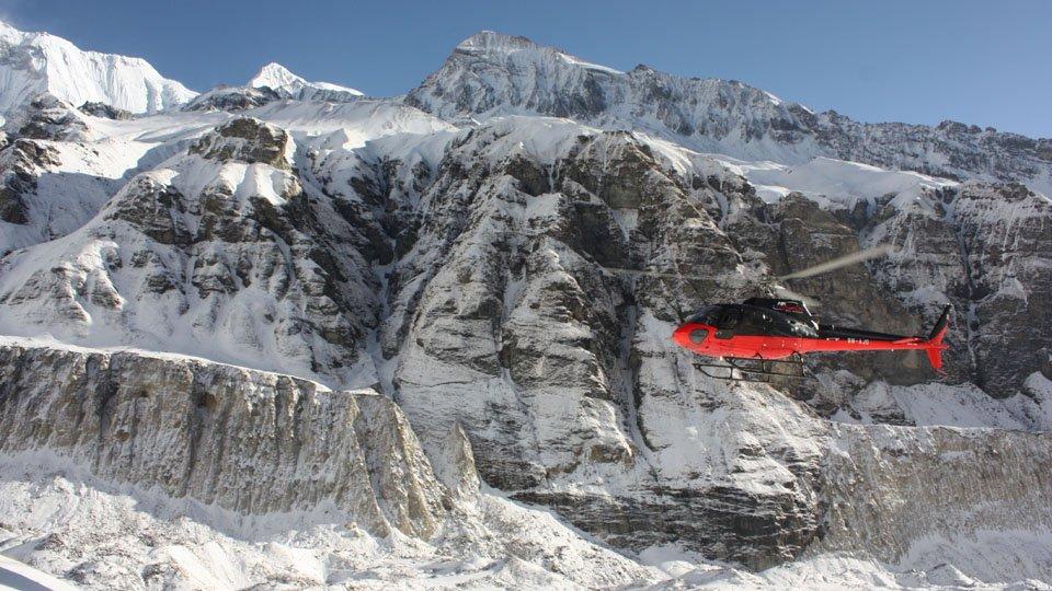 Annapurna Heli Tour and Trekking