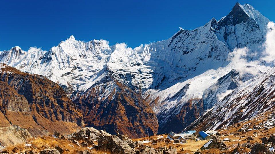Annapurna Base Camp View Trekking