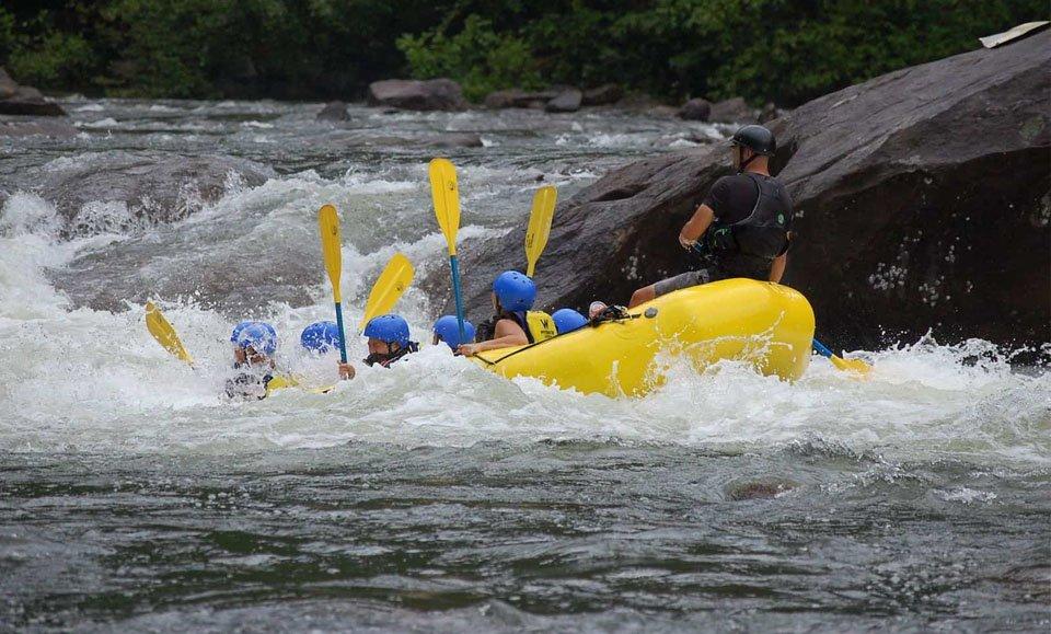 Sunkoshi River Rafting in Nepal