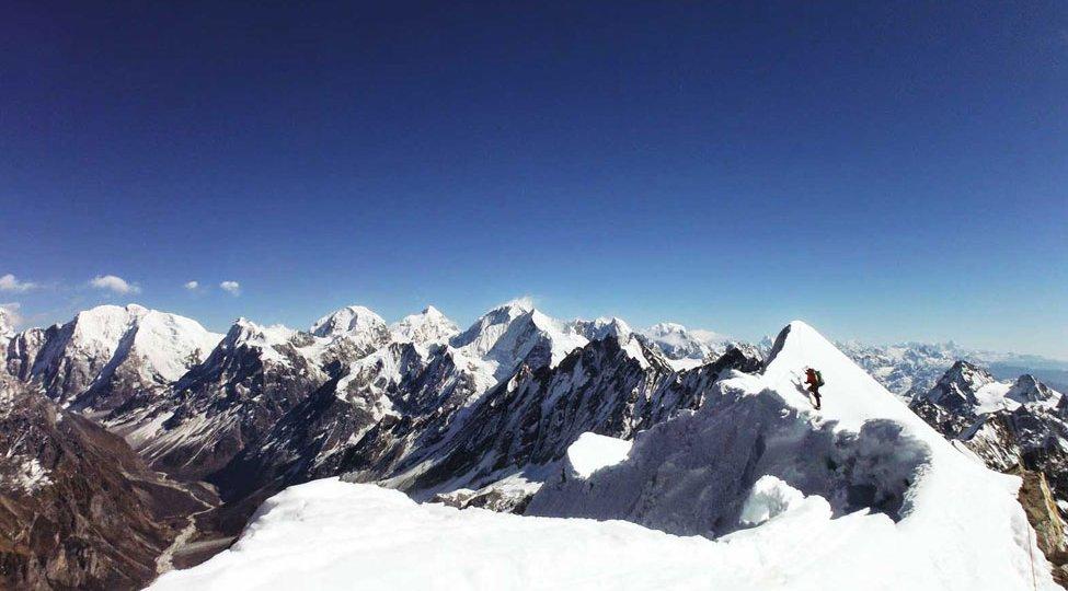 Top Ten Climbing peak in Nepal