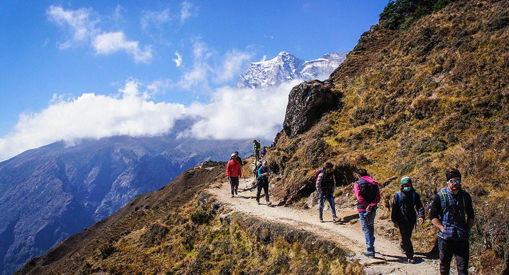 Trekking in Nepal Himalayas