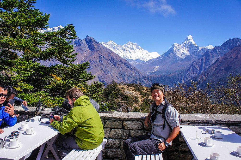 Everest Amadablam View