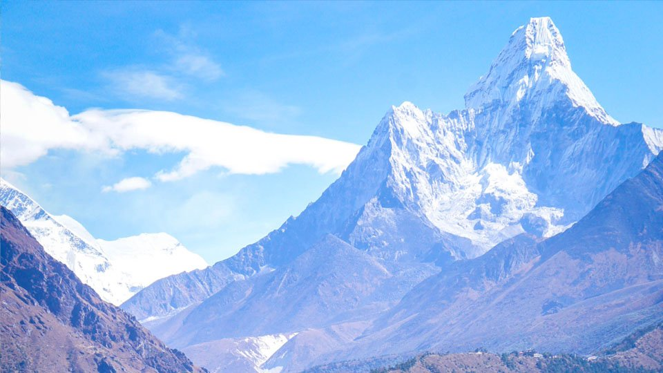 Everest Base Camp in Style