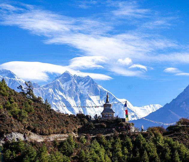 A Glimpse of Everest Base Camp Treks