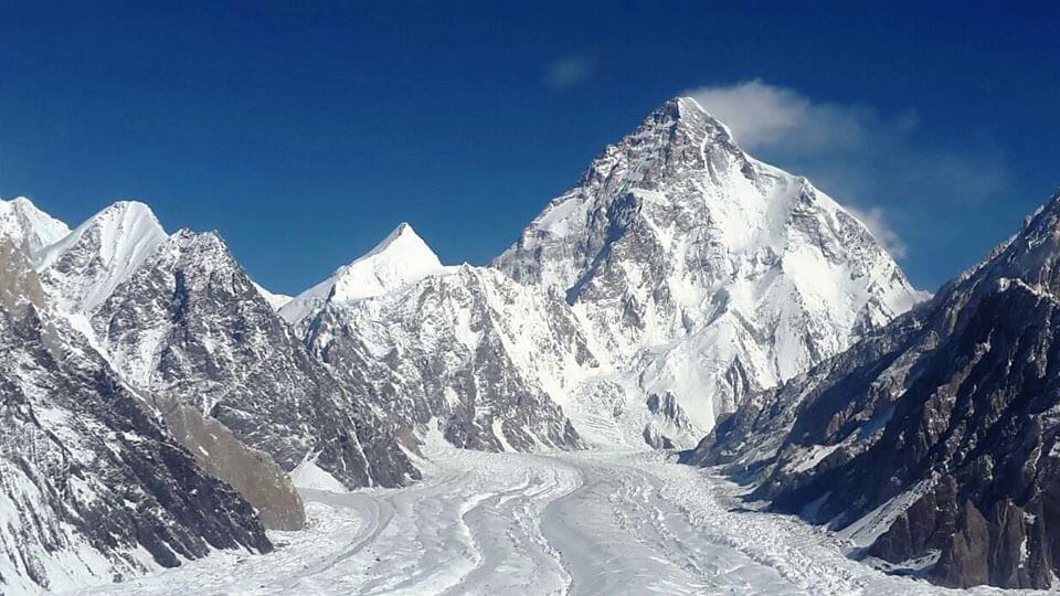 Mount K2 (8611m), Pakistan