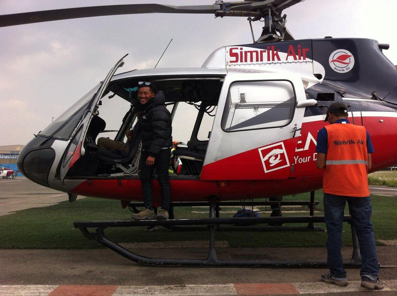 Kathmandu to Lukla Helicopter Flight