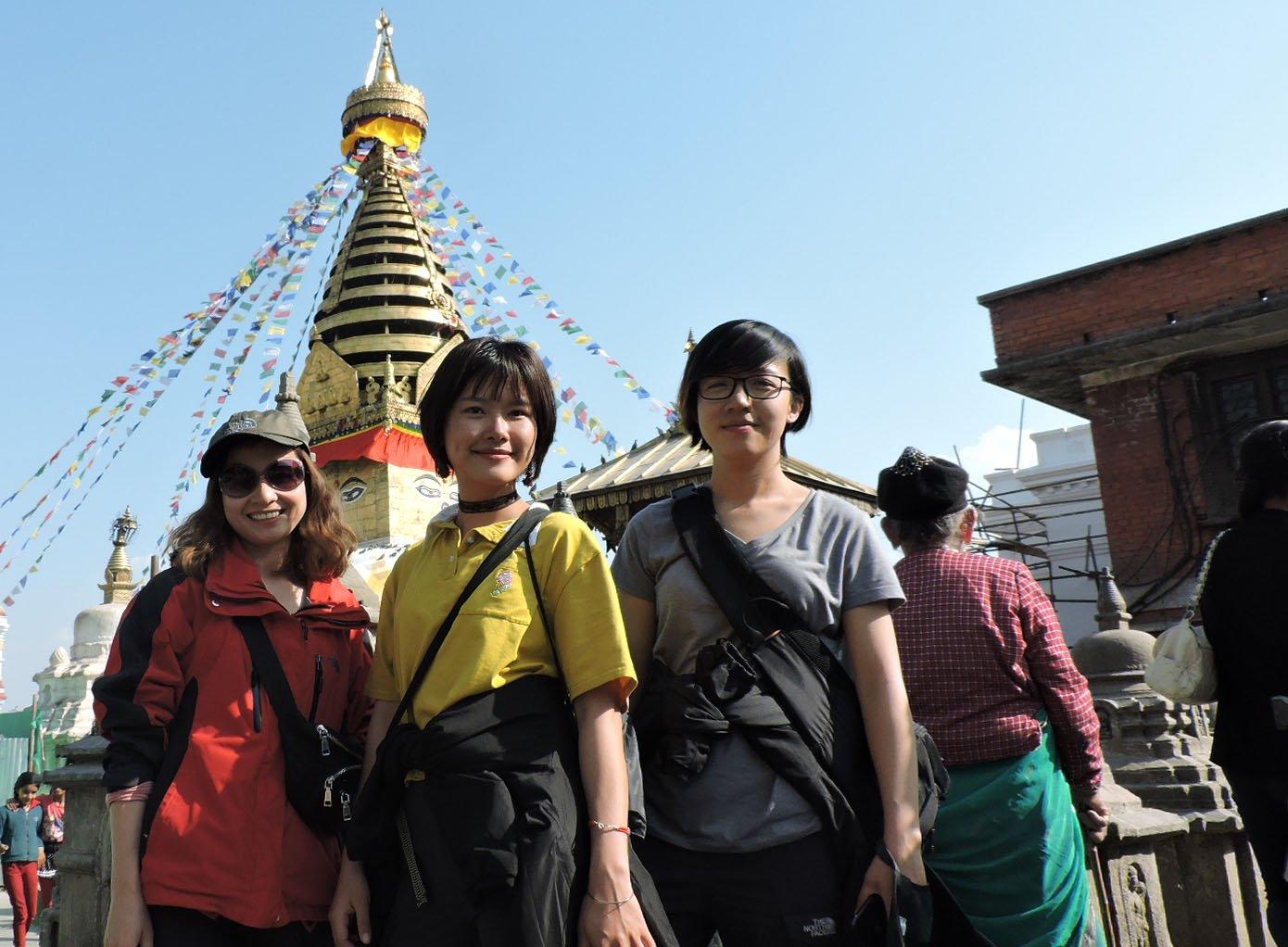 Tour Swayambhunath