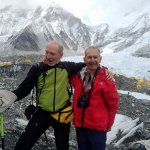Franco and his Friend at Everest Base Camp Trekking