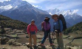 Salahudin Damar Jaya and Friends Everest Base Camp Treks Nepal