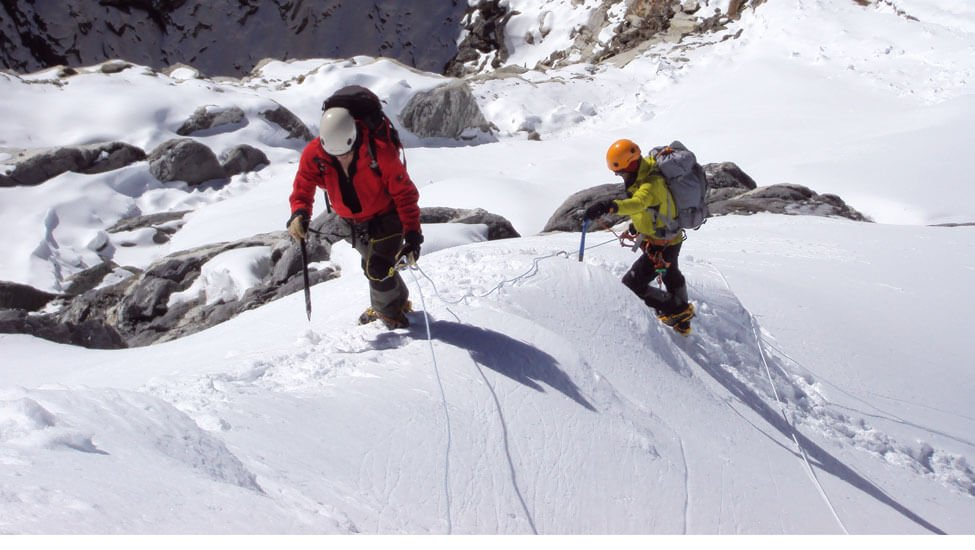 Mountaineering is uch an amazing thing to do in Nepal as Nepal is a mountainous country