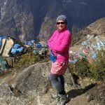 Namche Bazari View While Everest Base Camp Treks