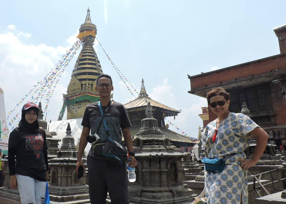 Swayambhunath Visit Jaya Friends