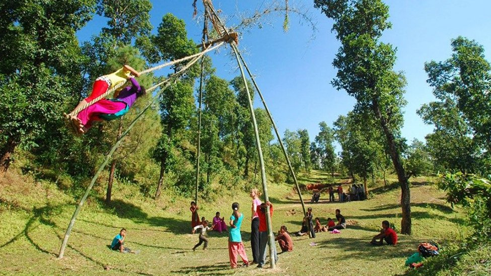 Dashain Festival in October