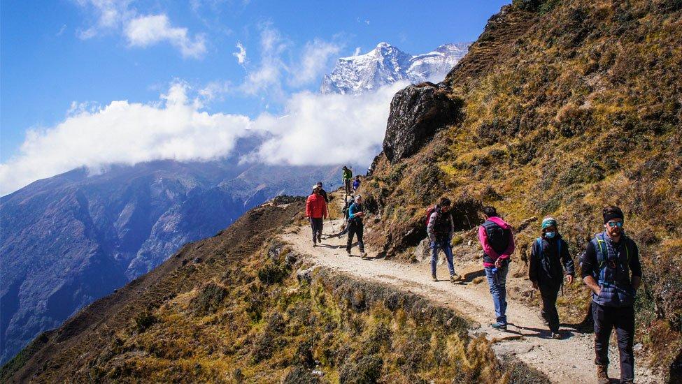 Group Everest Trekkers
