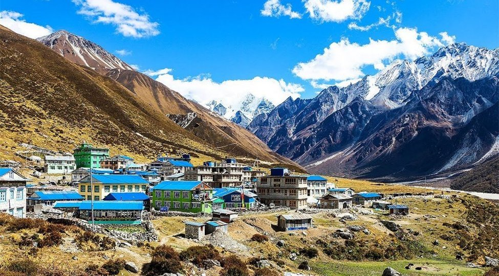 Langtang Valley Trek in October