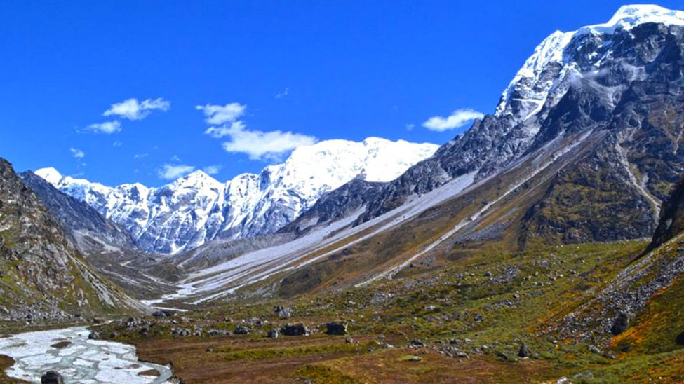 Scenic Views in October while Trekking Langtang Valley