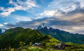 Trekking in Nepal in November
